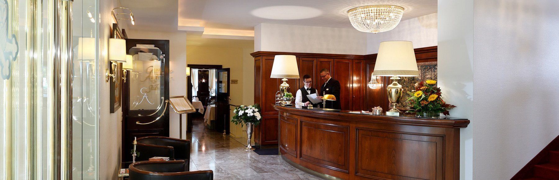 Foyer Hotel Gebhards