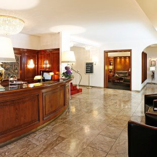 Lobby des Gebhards Hotels