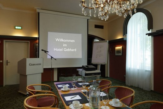 Conference room for your event at Romantik Hotel Gebhards