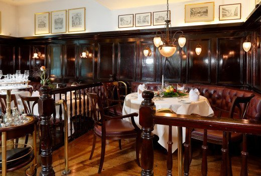 Dining room of the Georgia Augusta Rooms